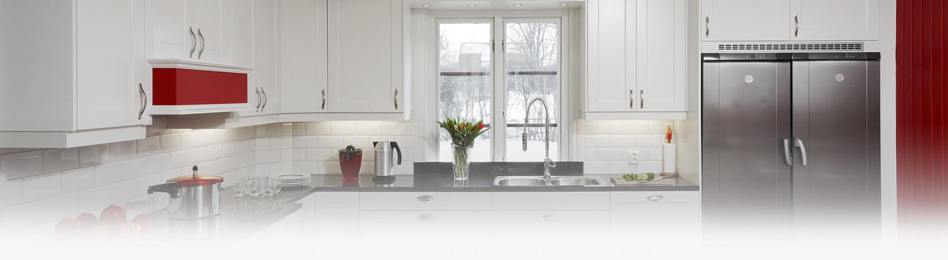 Luckbyte, enkel köksrenovering på fyra timmar - Novaflex.se