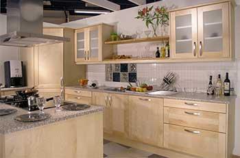 Kök med Klassisk Stil