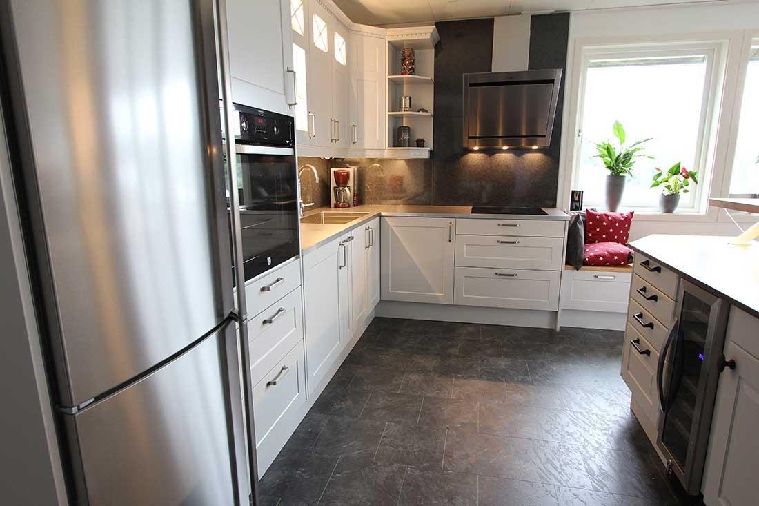 Köket Gotland - Vit Lackerad