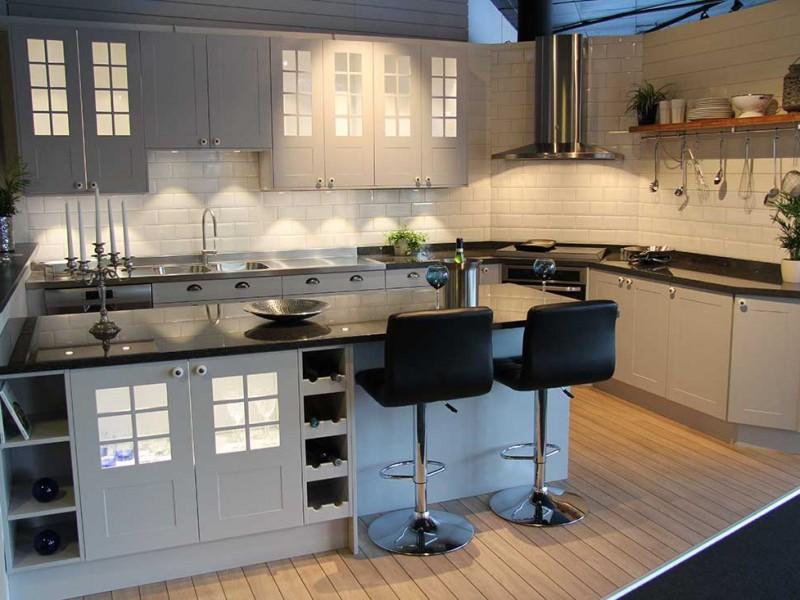 Köket Gotland - Lackerad Grå